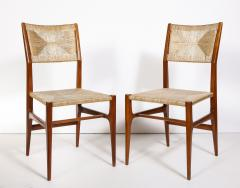 Gio Ponti Set of 8 Side Chairs by Gio Ponti for M Singer Sons - 1414798