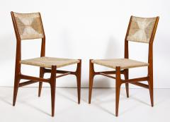 Gio Ponti Set of 8 Side Chairs by Gio Ponti for M Singer Sons - 1414799
