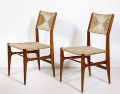 Gio Ponti Set of 8 Side Chairs by Gio Ponti for M Singer Sons - 1414800