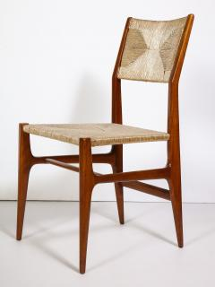 Gio Ponti Set of 8 Side Chairs by Gio Ponti for M Singer Sons - 1414801