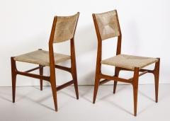 Gio Ponti Set of 8 Side Chairs by Gio Ponti for M Singer Sons - 1414803