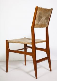 Gio Ponti Set of 8 Side Chairs by Gio Ponti for M Singer Sons - 1414805