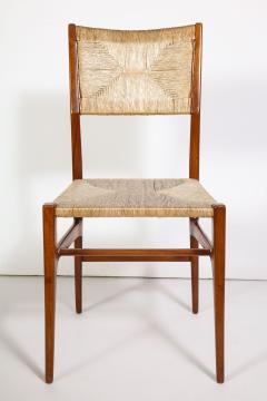 Gio Ponti Set of 8 Side Chairs by Gio Ponti for M Singer Sons - 1414808