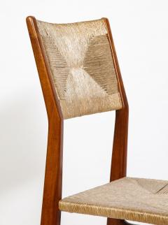 Gio Ponti Set of 8 Side Chairs by Gio Ponti for M Singer Sons - 1414810