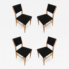 Gio Ponti Set of Four Dining Chairs by Gio Ponti for Singer Sons - 1092081