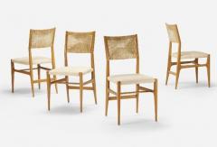 Gio Ponti Set of Four Gio Ponti Dining Chairs - 609497