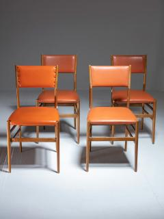 Gio Ponti Set of Four Leggera Chairs by Gio Ponti for Cassina - 1448157