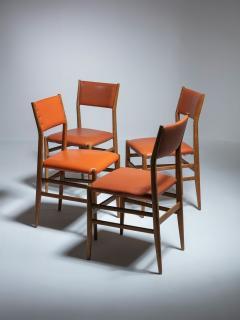 Gio Ponti Set of Four Leggera Chairs by Gio Ponti for Cassina - 1448160