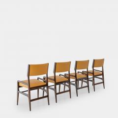 Gio Ponti Set of Four Rare Dining Chairs - 1123804