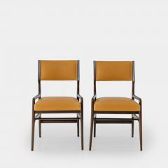Gio Ponti Set of Four Rare Dining Chairs - 1123805