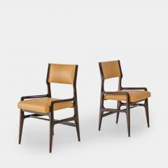 Gio Ponti Set of Four Rare Dining Chairs - 1123806