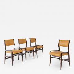 Gio Ponti Set of Four Rare Dining Chairs - 1125694