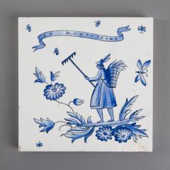 Gio Ponti Set of Six Ceramic Tiles by Gio Ponti - 798833