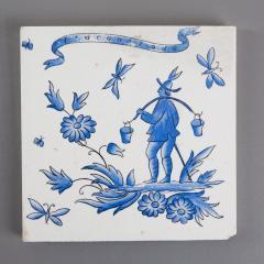 Gio Ponti Set of Six Ceramic Tiles by Gio Ponti - 798841