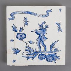 Gio Ponti Set of Six Ceramic Tiles by Gio Ponti - 798845