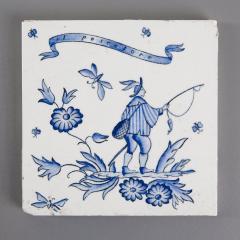 Gio Ponti Set of Six Ceramic Tiles by Gio Ponti - 798846