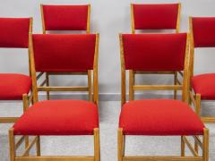 Gio Ponti Set of eight Superleggera chairs - 1830908