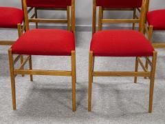 Gio Ponti Set of eight Superleggera chairs - 1830909