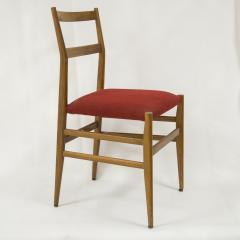 Gio Ponti Set of four Superleggera chairs by Gio Ponti circa 1950 - 969773