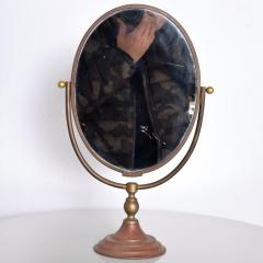 Gio Ponti Vintage Modern Vanity Table Mirror Oval - 1233536
