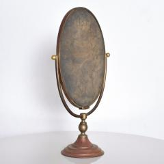 Gio Ponti Vintage Modern Vanity Table Mirror Oval - 1233537