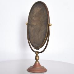 Gio Ponti Vintage Modern Vanity Table Mirror Oval - 1233539