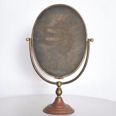 Gio Ponti Vintage Modern Vanity Table Mirror Oval - 1233540