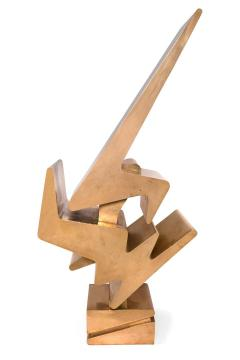 Giorgio Zennaro Signed Patinated Bronze Sculpture - 1525460