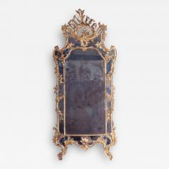 Giovan Battista Dolci A Carved and Gilded Rococo Mirror with Antique Mirror Glass - 118475