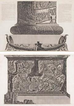 Giovanni Battista Piranesi Trajans Column Plates X and XI by Giovanni Battista Piranesi - 2028430