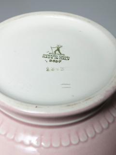 Giovanni Gariboldi Pink Ceramic Vase by Giovanni Gariboldi for San Cristoforo Richard Ginori - 1193724