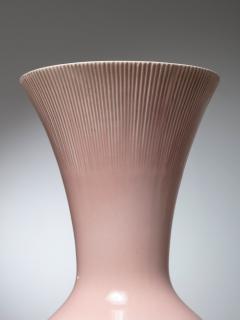 Giovanni Gariboldi Pink Ceramic Vase by Giovanni Gariboldi for San Cristoforo Richard Ginori - 1193725