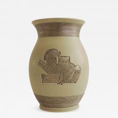 Giovanni Gariboldi Rare Giovanni Gariboldi vase for Richard Ginori Milano Italy 1930s - 938000