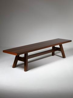 Giovanni Michelucci Torbecchia Wood Bench by Giovanni Michelucci for Poltronova - 1574843