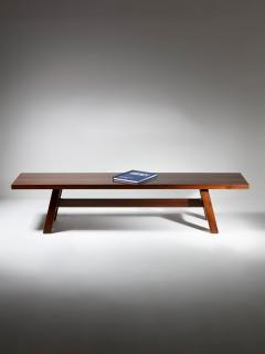 Giovanni Michelucci Torbecchia Wood Bench by Giovanni Michelucci for Poltronova - 1574845