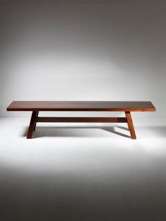 Giovanni Michelucci Torbecchia Wood Bench by Giovanni Michelucci for Poltronova - 1574846