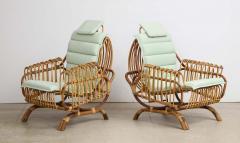Giovanni Travasa Rare Pair of Antonietta Arm Chairs by Giovanni Travasa for Bonacina - 1528088