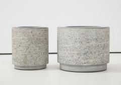 Giuliani Lazzotti Pair of Marble Vases by Giuliani Lazzotti Castigliani Turin Italy 1980 s - 1161657