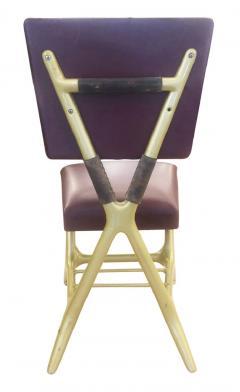 Giulio Minoletti Giulio Minoletti and Gio Ponti Chairs Six Available - 1499580