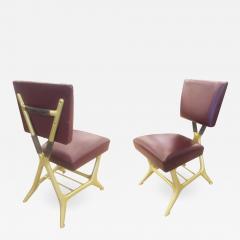 Giulio Minoletti Giulio Minoletti and Gio Ponti Chairs Six Available - 1500361