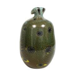 Giulio Radi Giulio Radi Black Glass Vase with Gold Foil ca 1950 - 2054452