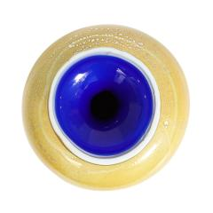 Giulio Radi Giulio Radi Vase with Silver Foil and Blue Inside ca 1950 - 2052261