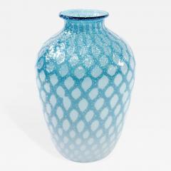 Giulio Radi Hand Blown Aqua Glass Vase by Giulio Radi - 203909