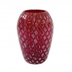 Giulio Radi Hand Blown Red Glass Vase by Giulio Radi - 202784