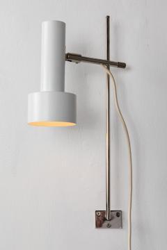Giuseppe Ostuni Pair of 1960s Adjustable Wall Lights Attributed to Giuseppe Ostuni - 1126688