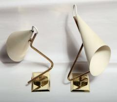 Giuseppe Ostuni Pair of Giuseppe Ostuni Sconces Made in Italy 1954 - 467318