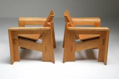Giuseppe Rivadossi Pair of Rivadossi Armchairs Italy 1980s - 1585468