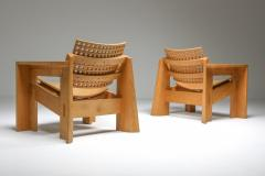 Giuseppe Rivadossi Pair of Rivadossi Armchairs Italy 1980s - 1585469