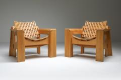Giuseppe Rivadossi Pair of Rivadossi Armchairs Italy 1980s - 1585470