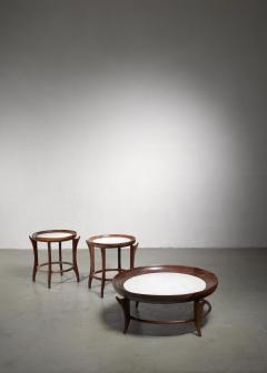 Giuseppe Scapinelli Giuseppe Scapinelli set of three tables Brazil - 1472083